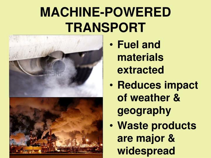 MACHINE-POWERED