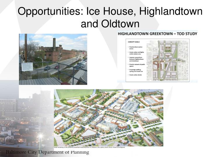 Opportunities: Ice House,