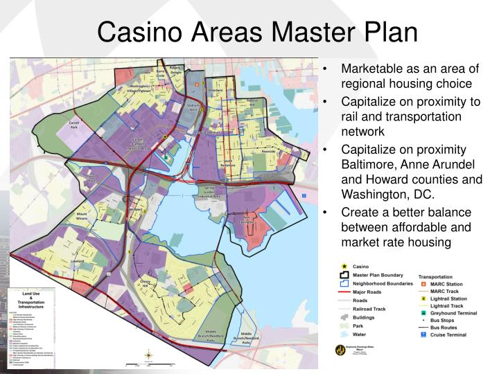 Casino Areas Master Plan