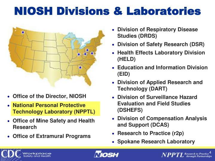 NIOSH Divisions & Laboratories