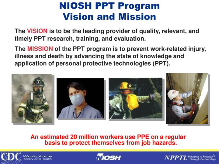NIOSH PPT Program
