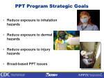 ppt program strategic goals