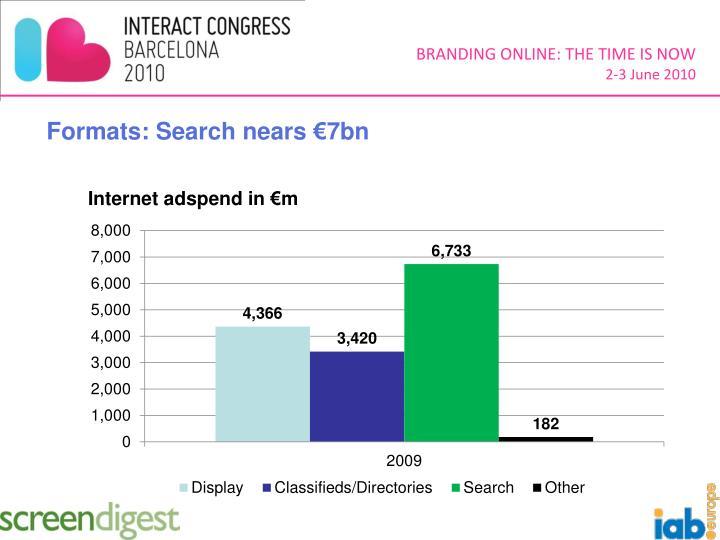 Formats: Search nears €7bn