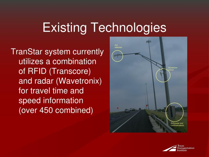 Existing Technologies