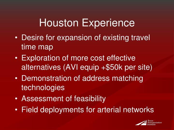 Houston Experience