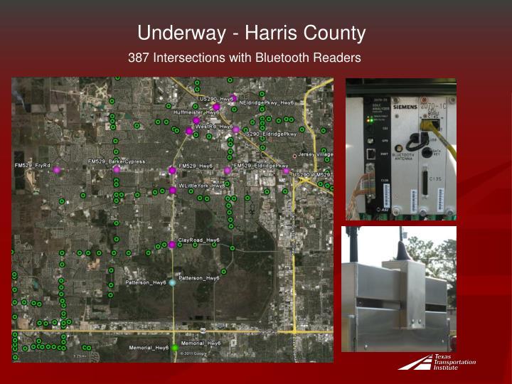 Underway - Harris County