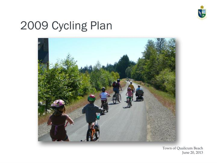 2009 Cycling Plan
