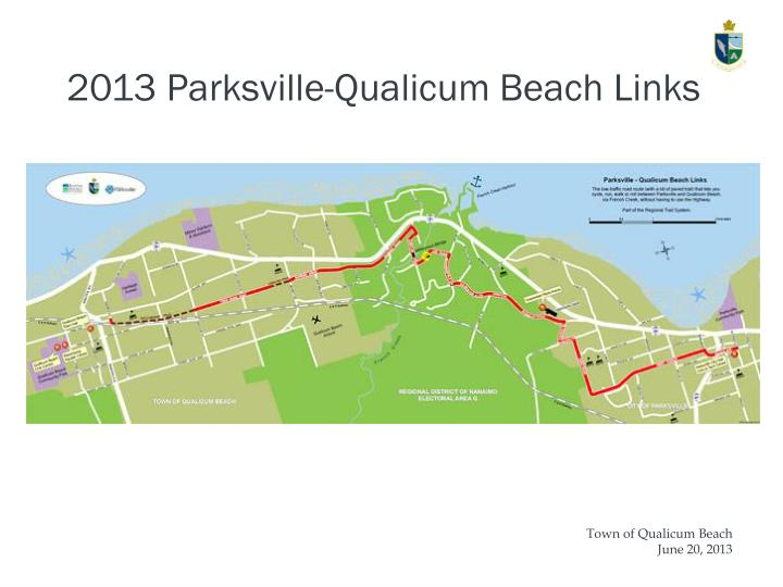 2013 Parksville-Qualicum Beach Links