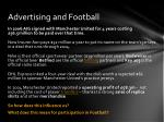 advertising and football1