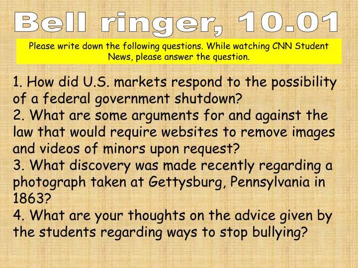 Bell ringer,