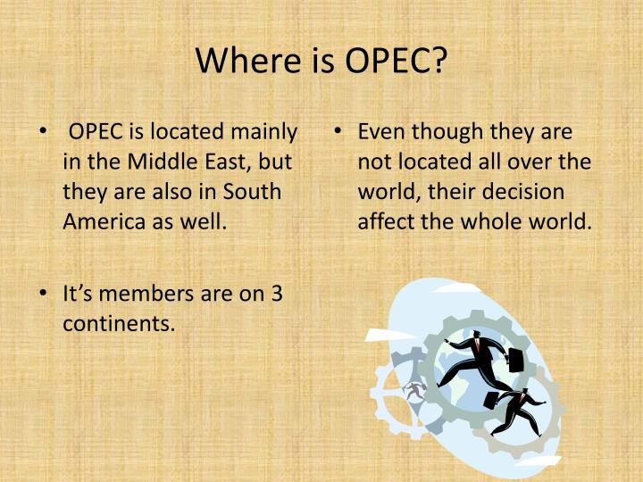 Where is OPEC?