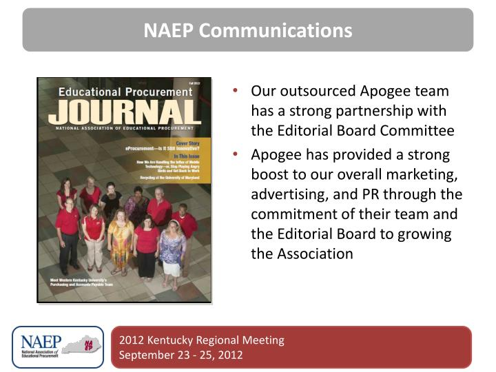 NAEP Communications