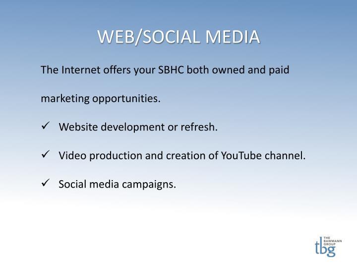 WEB/SOCIAL MEDIA