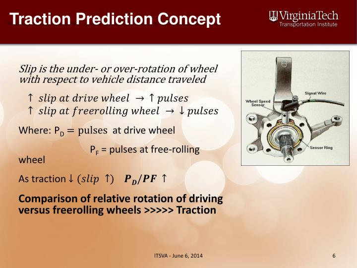 Traction Prediction Concept