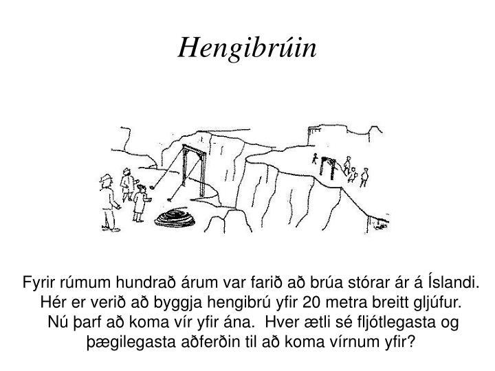 Hengibrúin