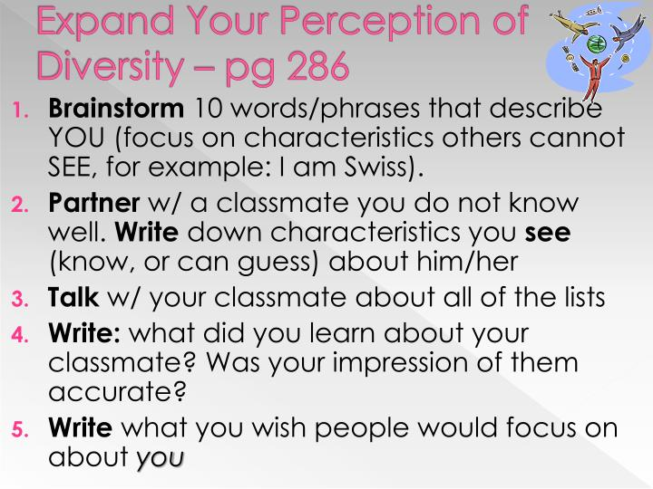 Expand Your Perception of Diversity – pg 286