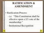 ratification amendment
