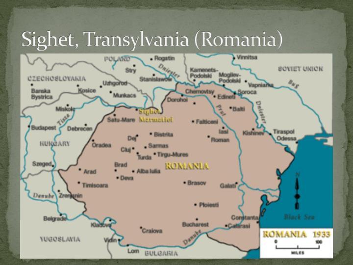 Sighet, Transylvania (Romania)