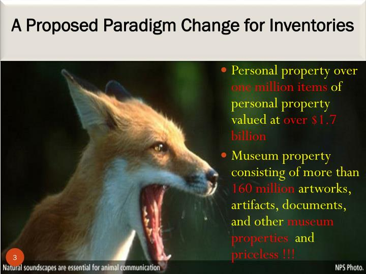A proposed paradigm change for inventories
