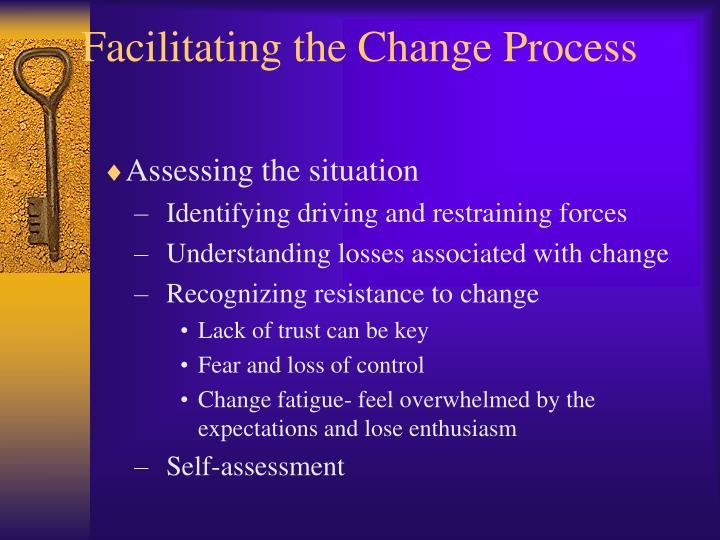 Facilitating the Change Process