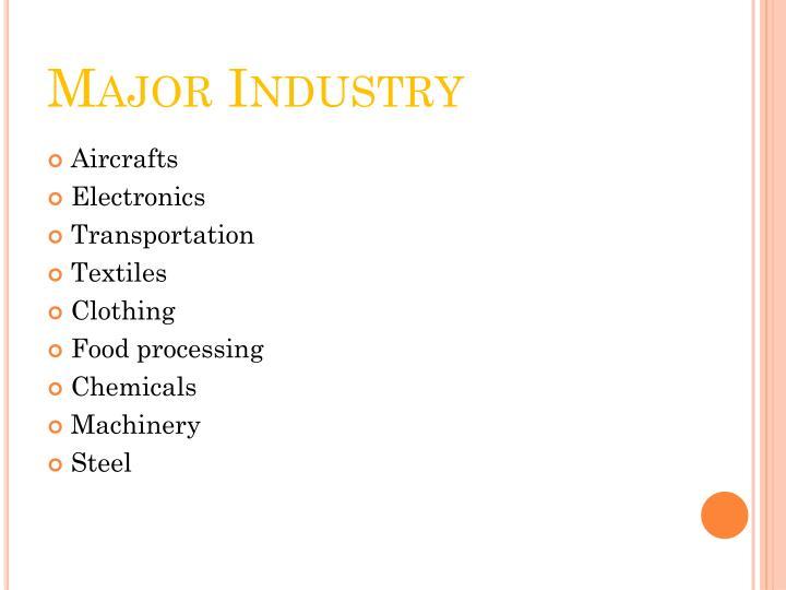 Major Industry