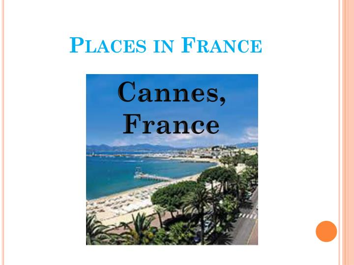 Places in France