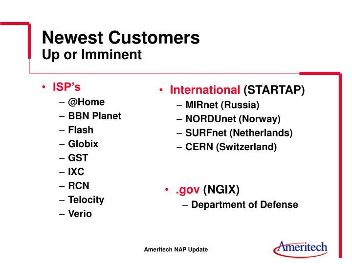 ISP's