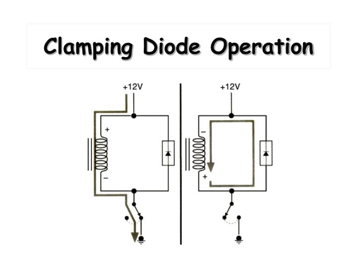 Clamping Diode Operation