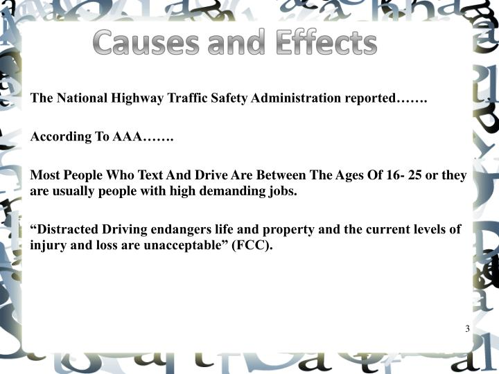 The National Highway Traffic Safety Administration reported…….