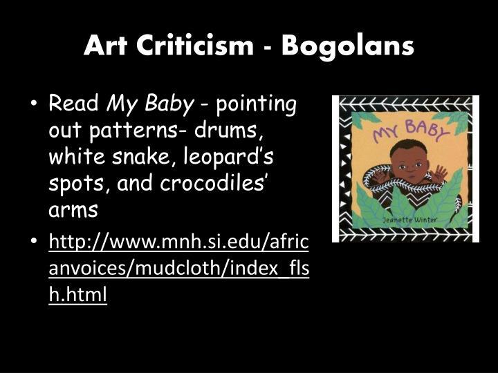 Art Criticism -