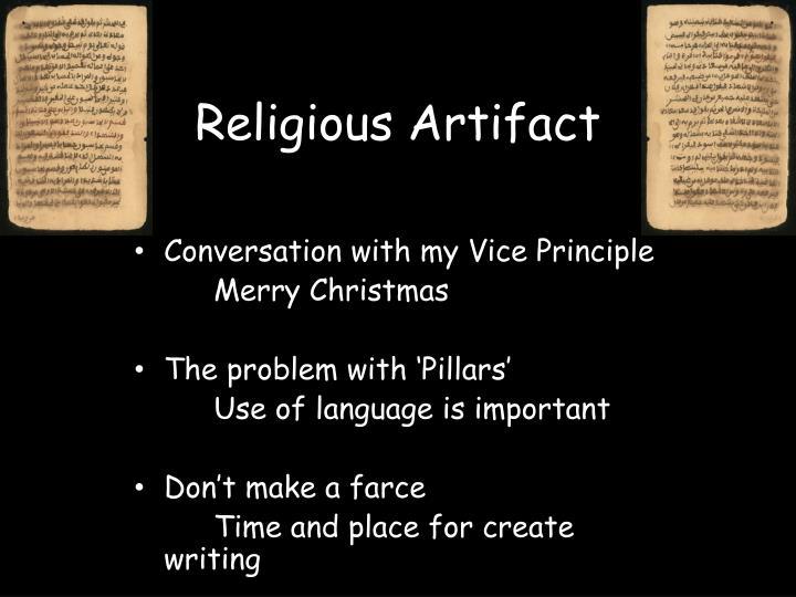 Religious Artifact