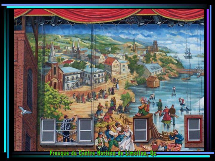 Fresque du Centre Horizon de Limoilou, Qc