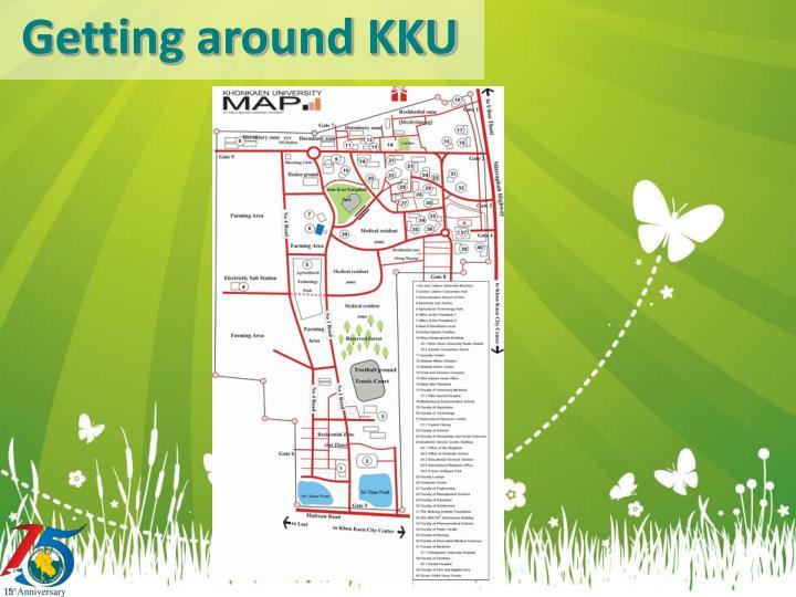 Getting around KKU