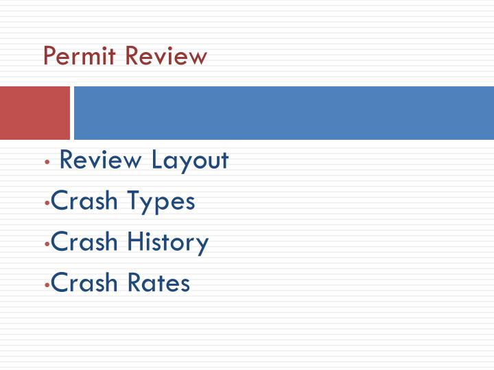 Permit Review