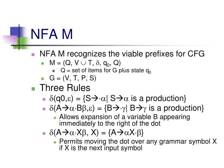 NFA M