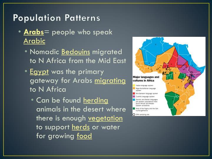 Population Patterns