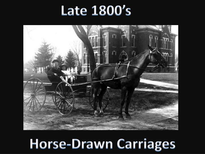 Late 1800's