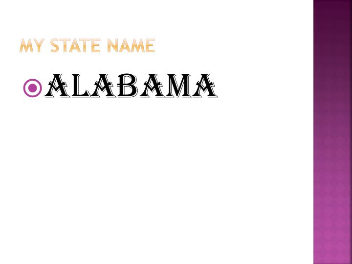 My State Name