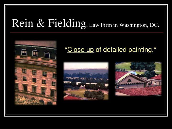 Rein & Fielding