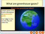 what are greenhouse gases