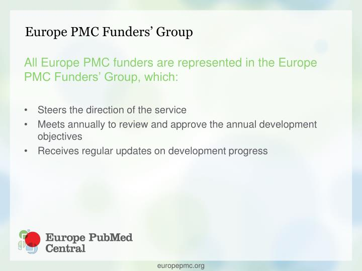 Europe PMC Funders' Group