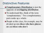 distinctive features25