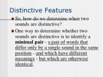 distinctive features5