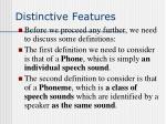 distinctive features9