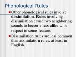 phonological rules7