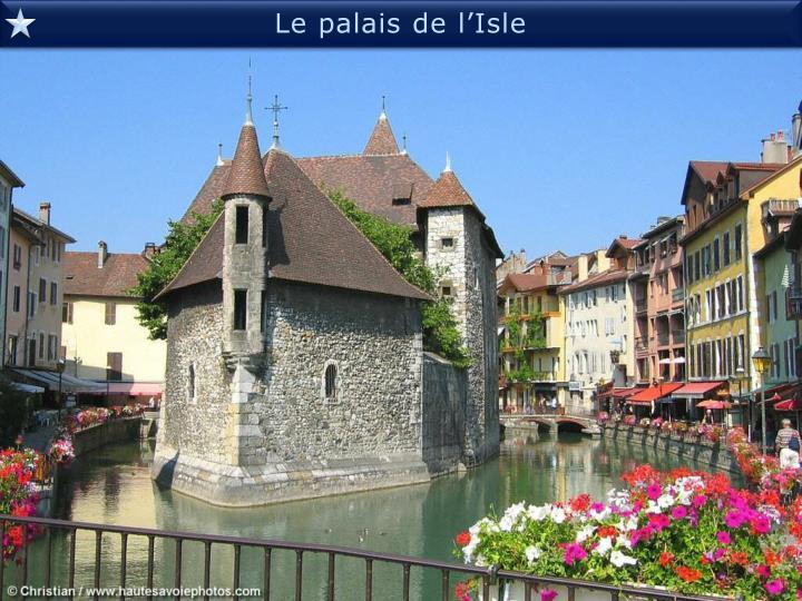Le palais de l'Isle