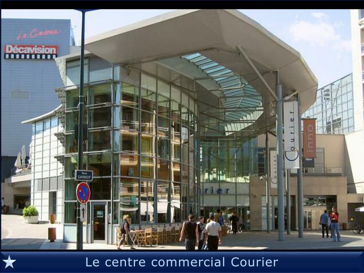 Le centre commercial Courier