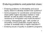 enduring problems and potential crises1