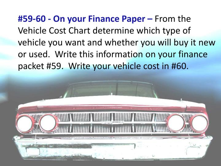 #59-60 - On your Finance Paper –