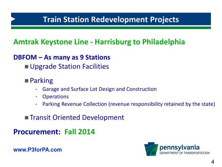 Train Station Redevelopment